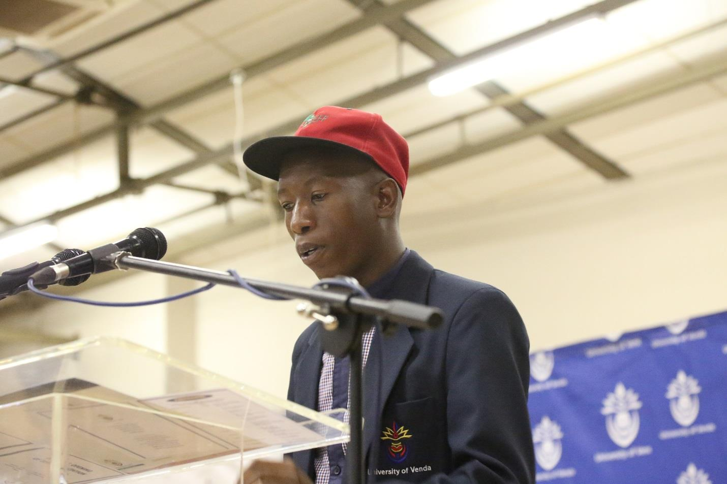 SRC PRESIDENT ENCOURAGES STUDENTS TO GO AN EXTRA MILE IN THEIR STUDIES
