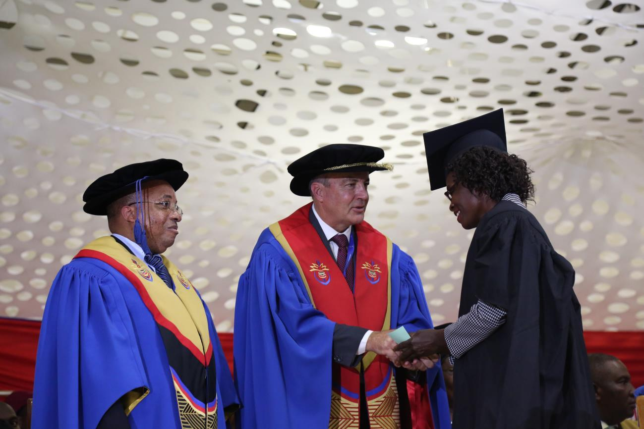 History in the making – First graduates of Diploma in Freshwater Technology