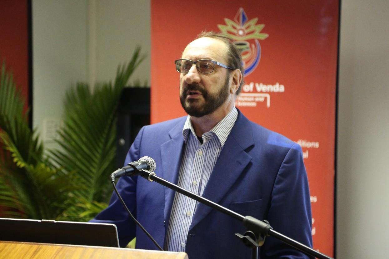 Professor Coplan Speaks Nkosi Sikelel' iAfrika During Series of Public Lectures