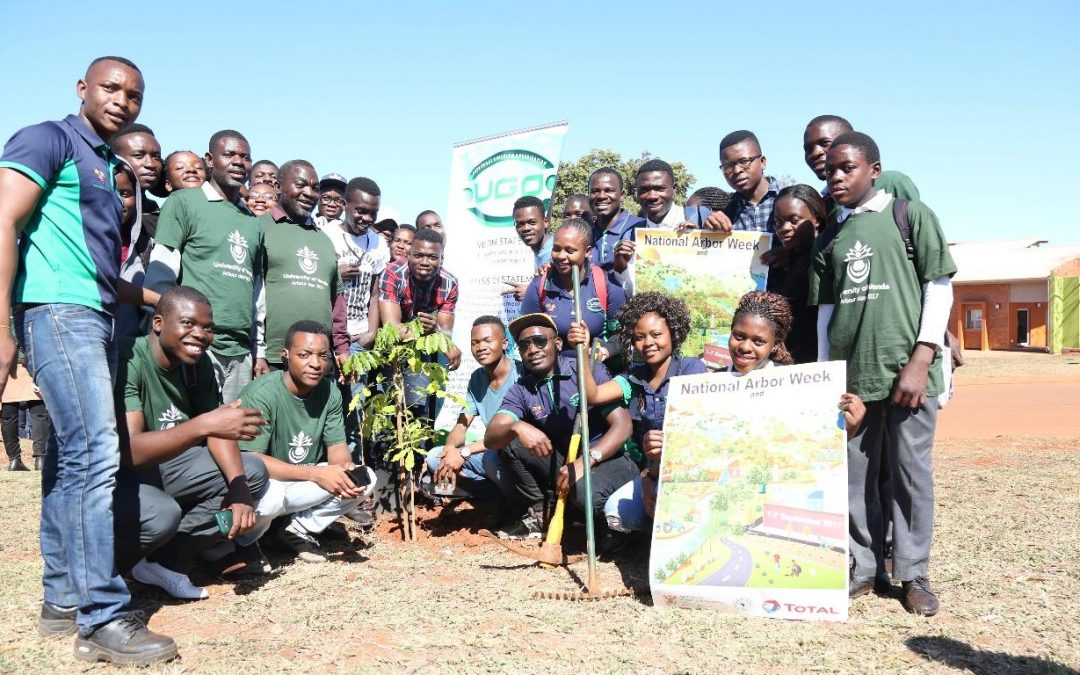 UGO goes green by planting trees during 2017 National Arbour Week