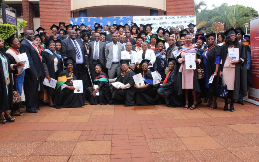 UIGC celebrates with Braille and South African Sign Language (SASL) graduates