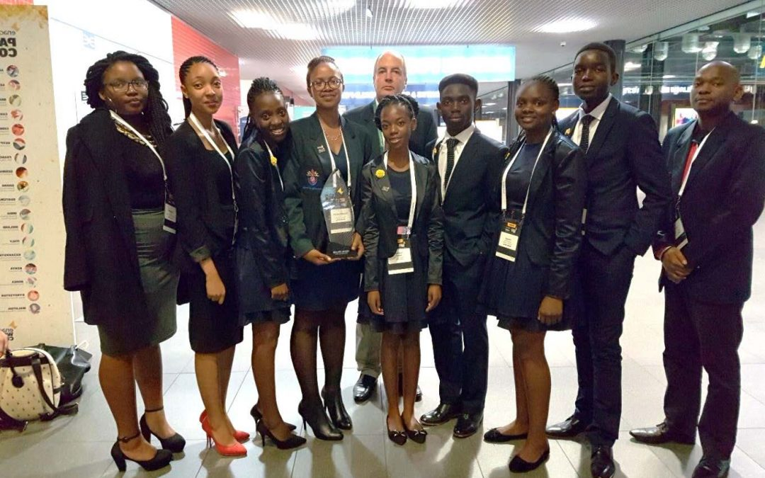 Video: Enactus Univen represents South Africa in London