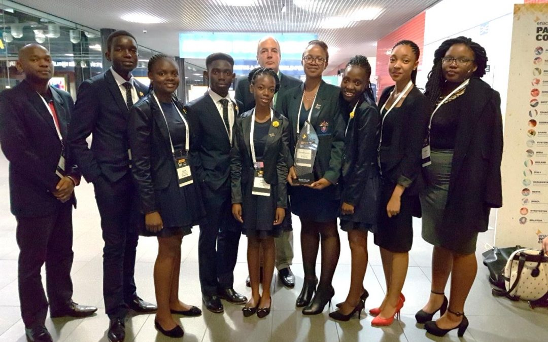 UNIVEN Enactus puts South Africa on the map during Enactus World Cup Competitions