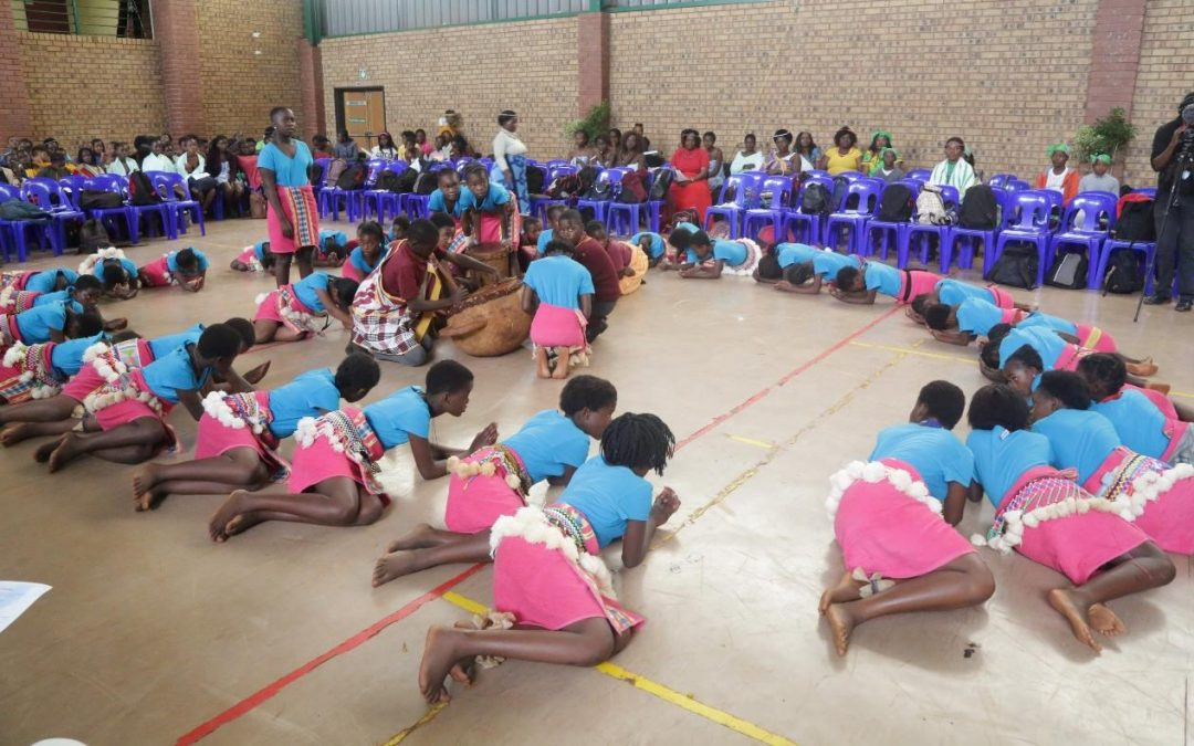 Univen speaks indigenous African language during Heritage month