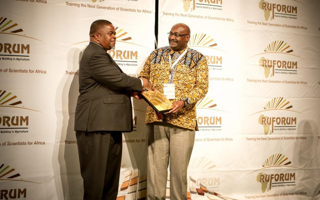 UNIVEN Vice-Chancellor a recipient of RUFORUM IMPRESSA Award for 2017