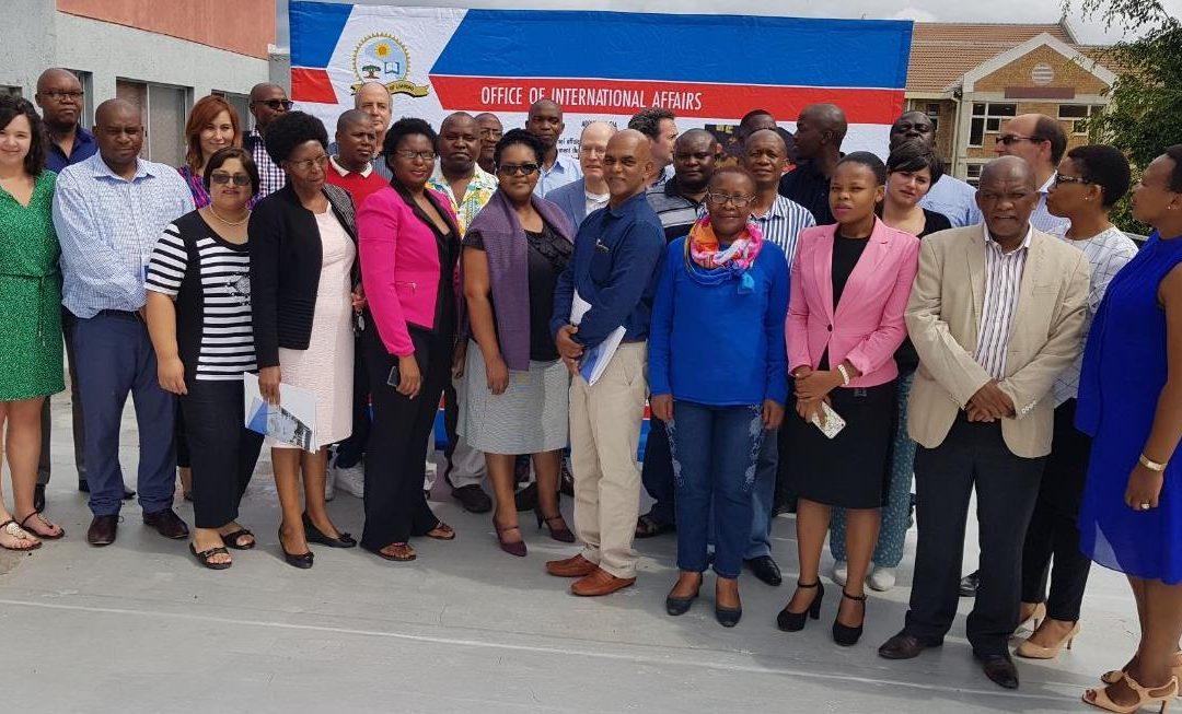 Univen participates at internationalisation strategy workshop
