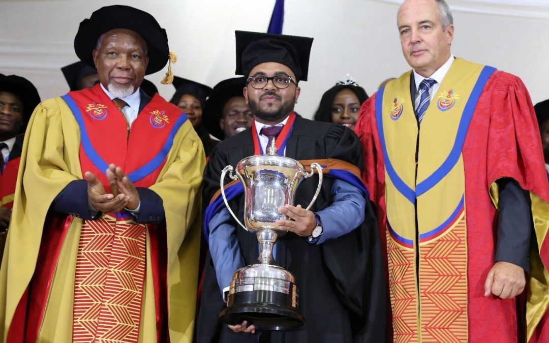 Farhan Ashraf Patel crowned the 2018 Senate Medallion recipient