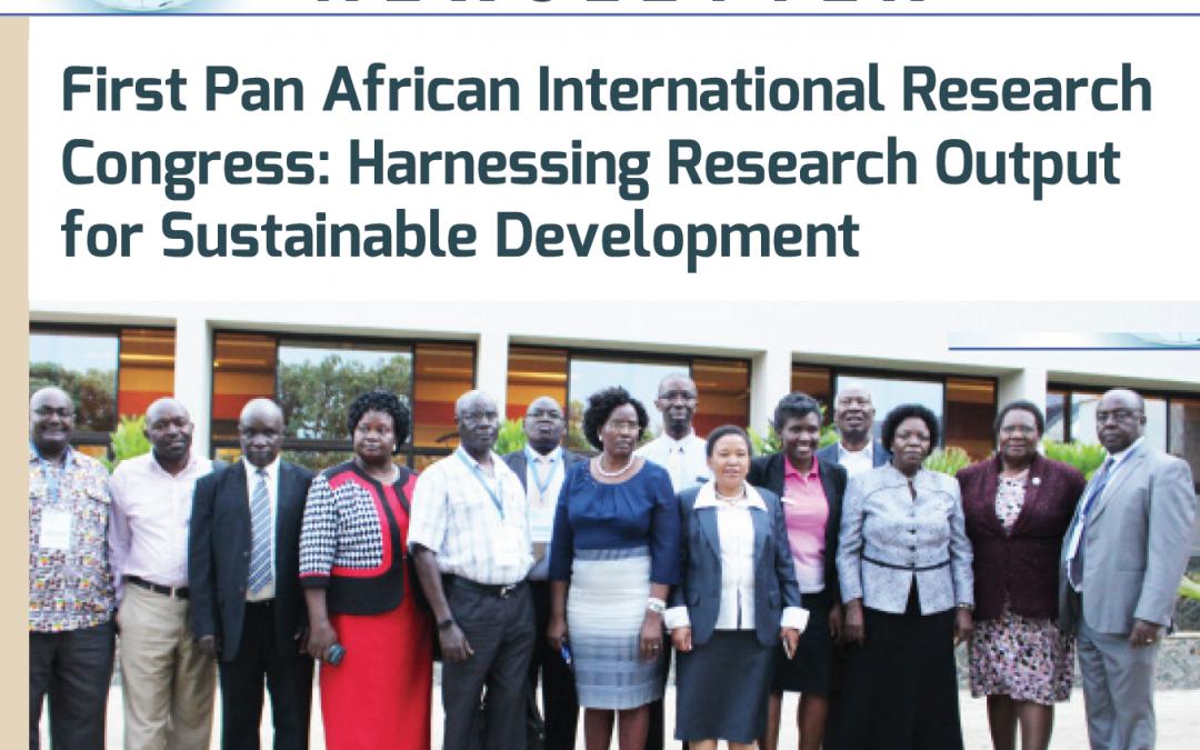 Newsletters: First Pan African International Research Congress