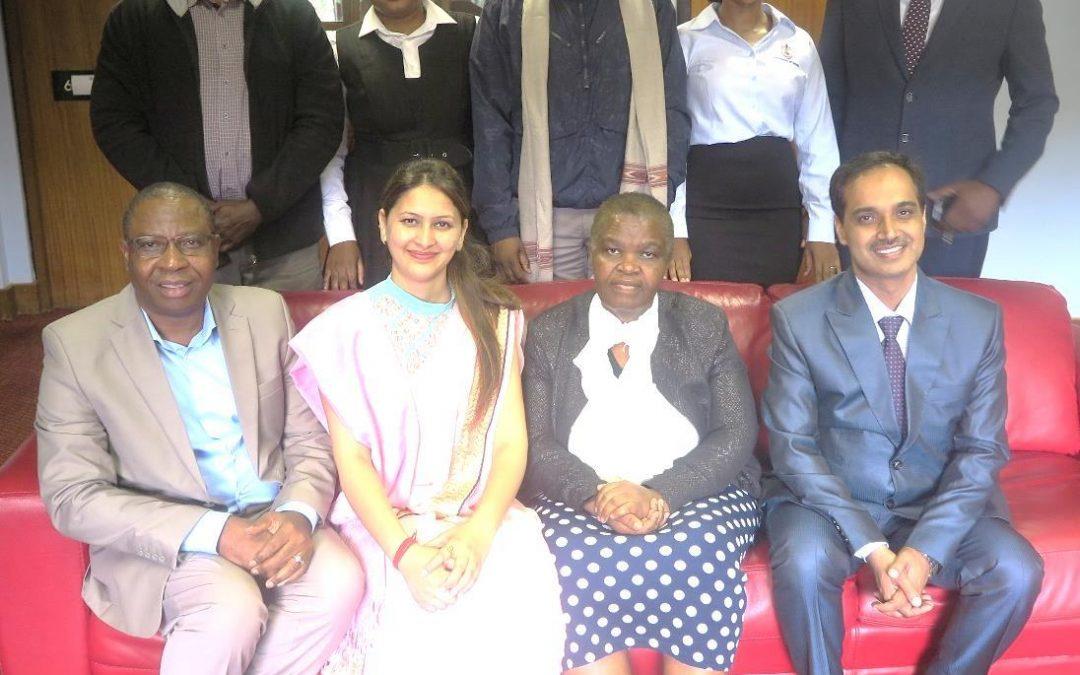 UNIVEN signed MoU with Shoolini University, India