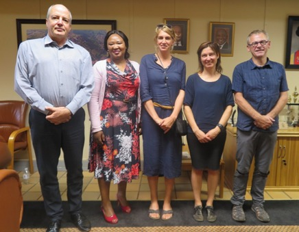UNIVEN welcomes exchange students and faculty from VIVES University College