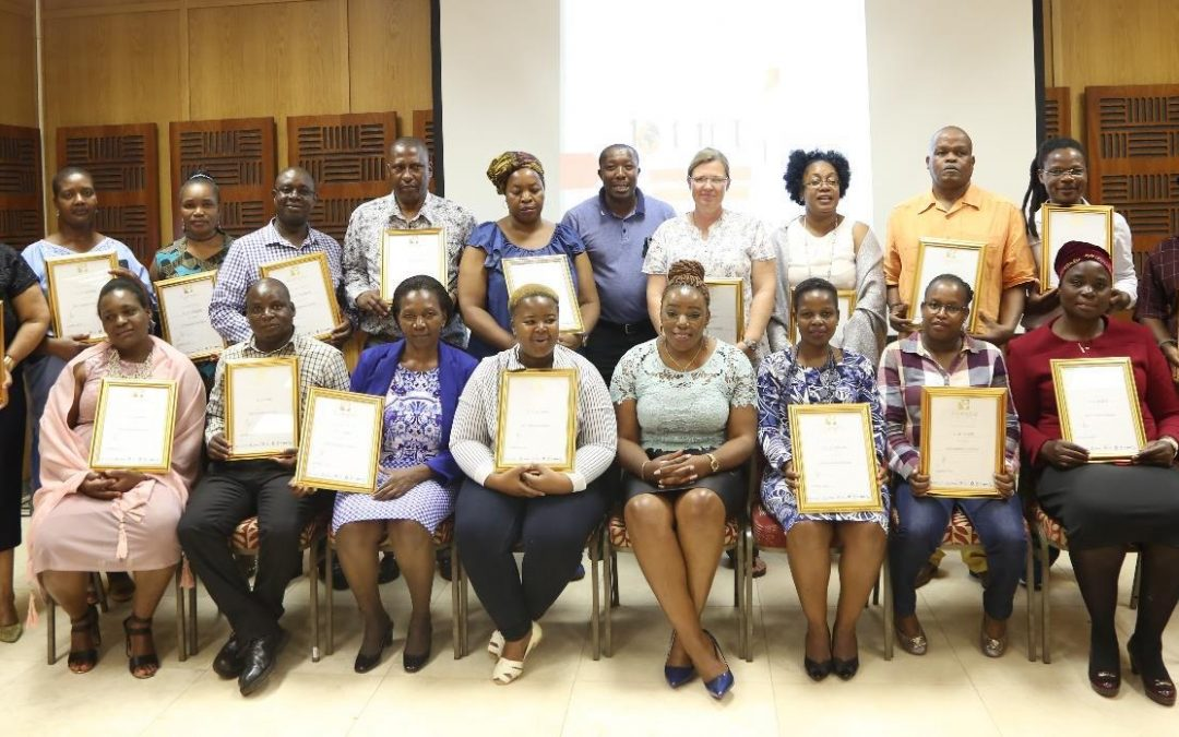 ETDP-SETA accredited workshop equips Univen Staff with Skills Development Facilitation (SDF) training