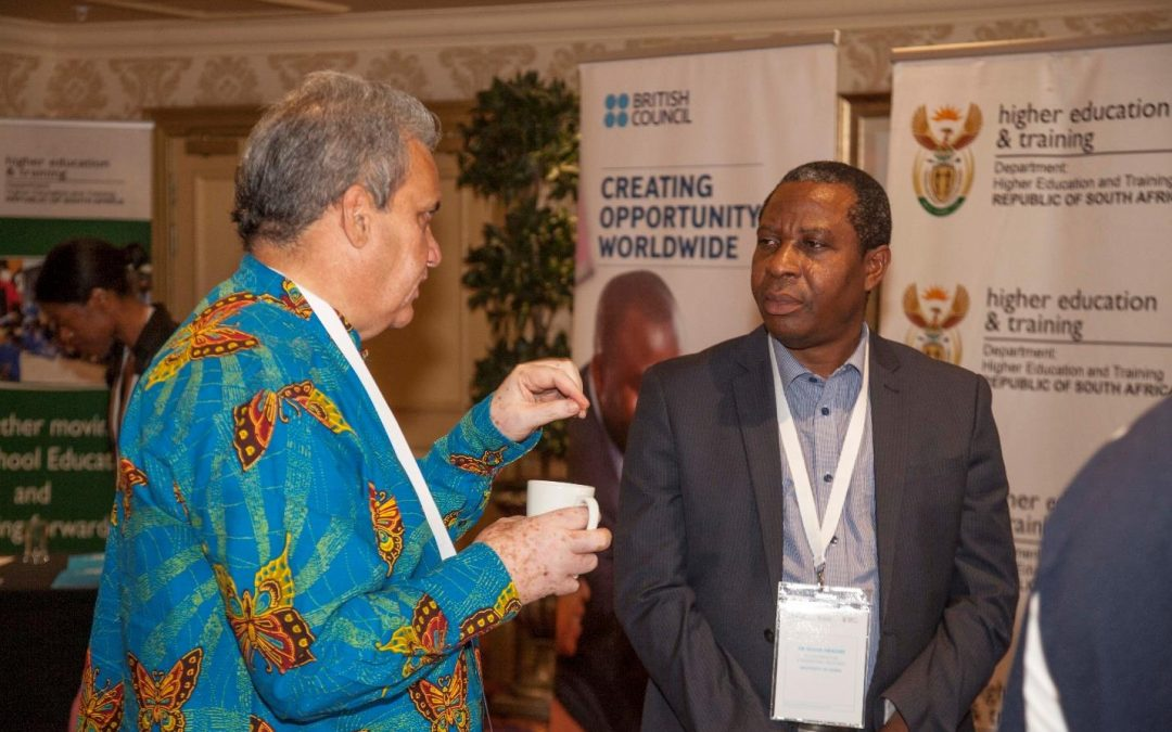 Dr Obadire represents Univen at the Internationalisation Policy Dialogues