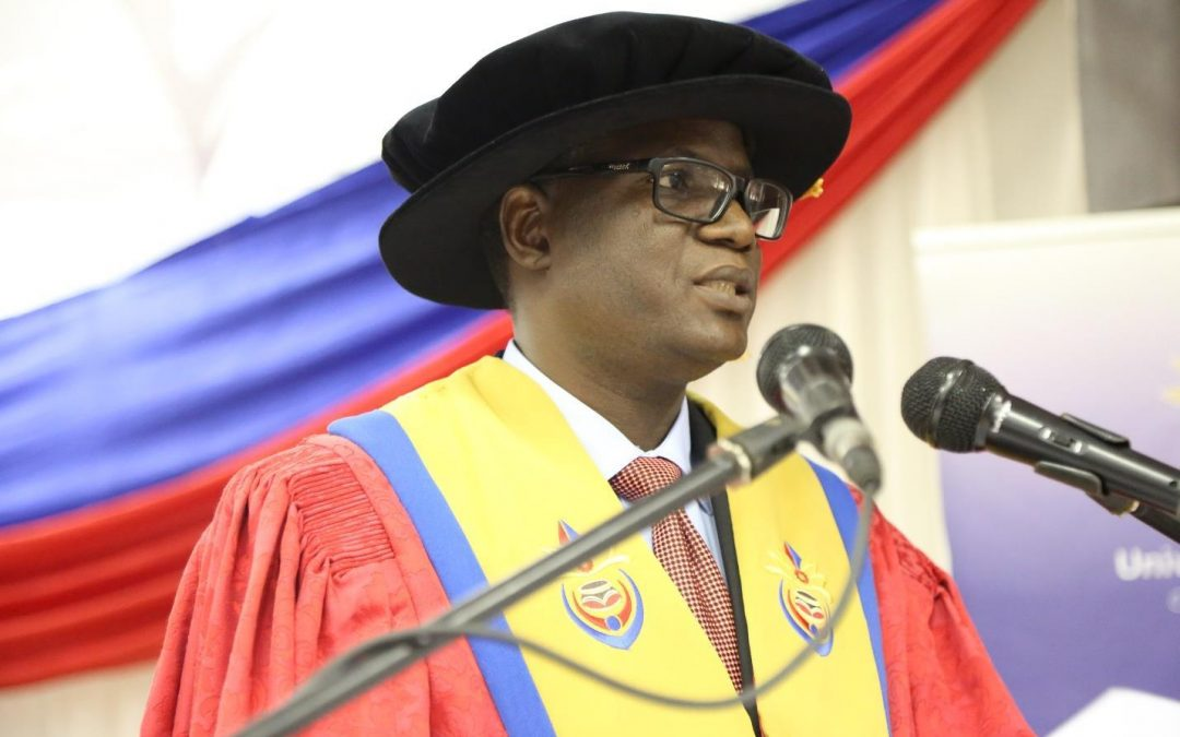 Dr Nthambeleni commends first entering students for choosing Univen as their preferred institution of higher learning