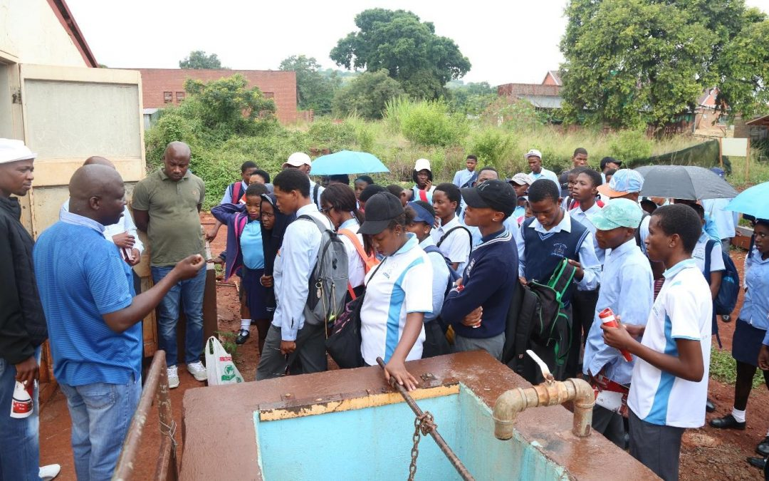 Diphale Secondary school grade 12 learners take charge of their career choices