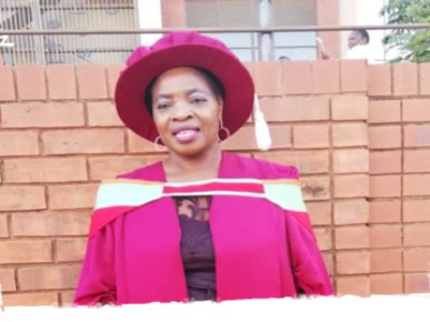 Dr Matodzi recently obtained a Doctor of Philosophy in Rural Development.  The degree was conferred on Wednesday 15 May 2019 here at Univen