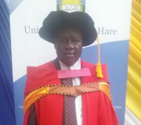 Dr Lufuno Kone, Manager in the Department of Communications and Marketing has fulfilled the requirements of his second PhD in Public Administration with Fort Hare University
