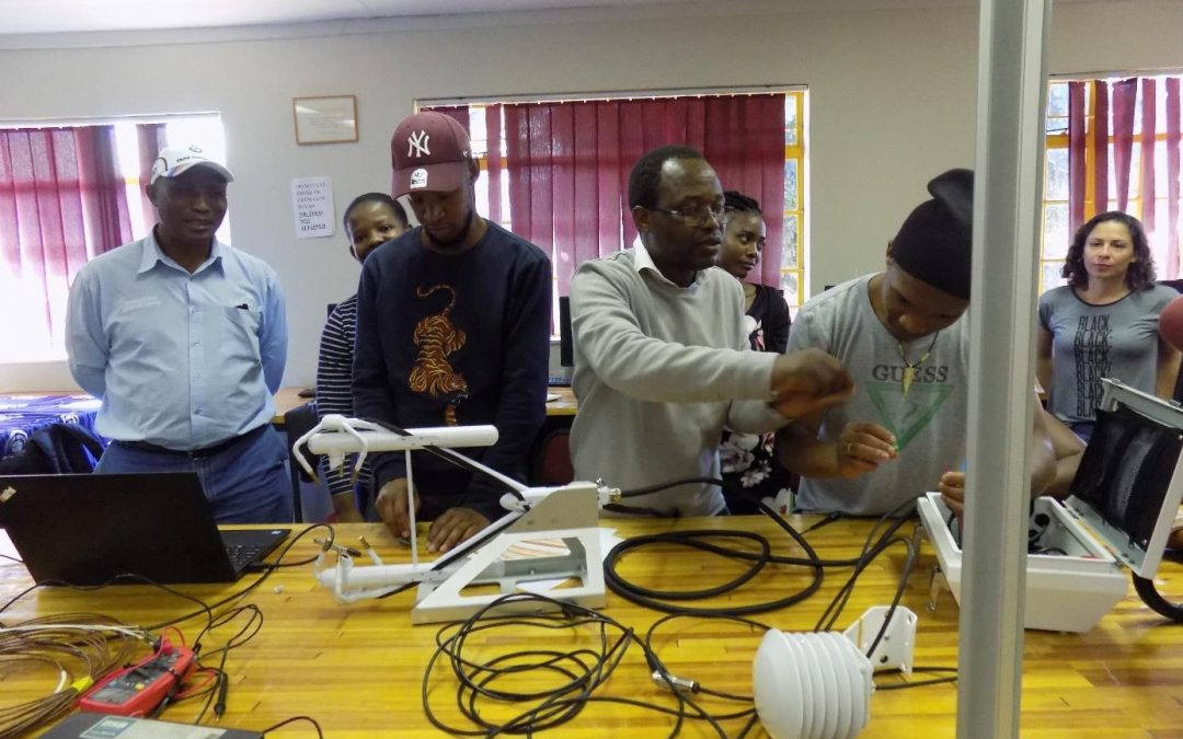 Vuwani Science Resource Centre hosts its first ever Eddy Covariance Flux Measurements Winter School