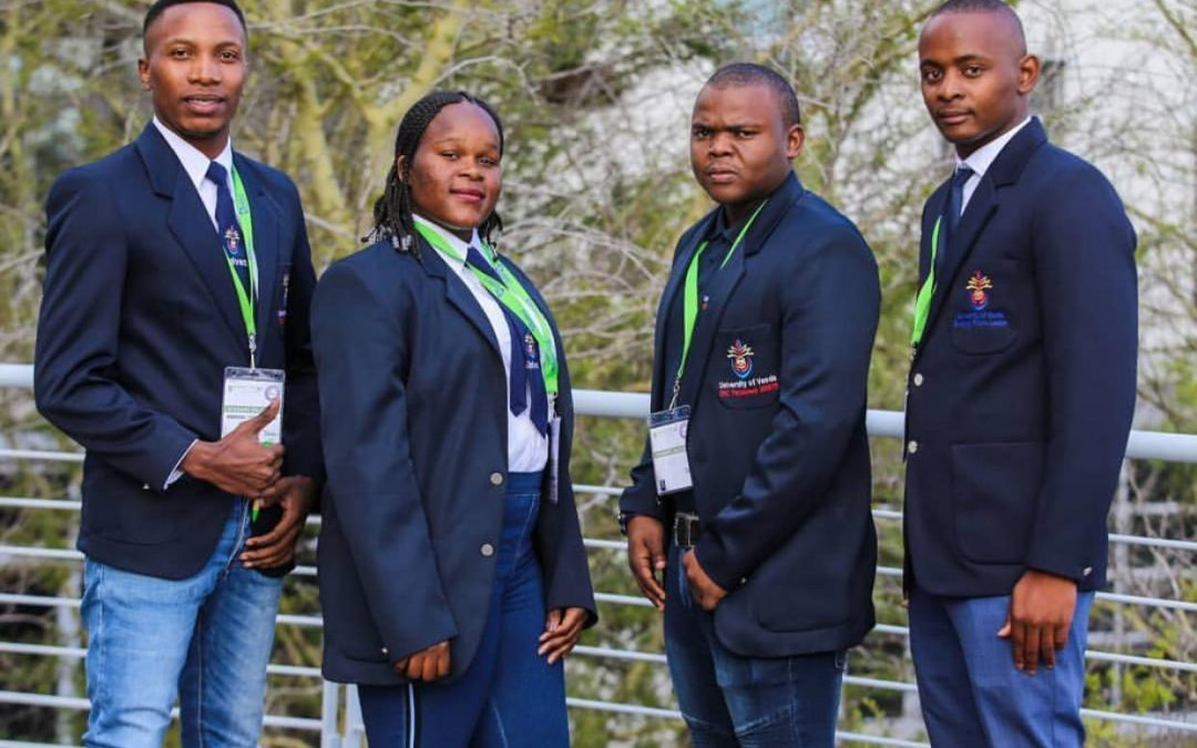 Four SRC Members participate in the Annual Green Campuses Conference in Cape Town