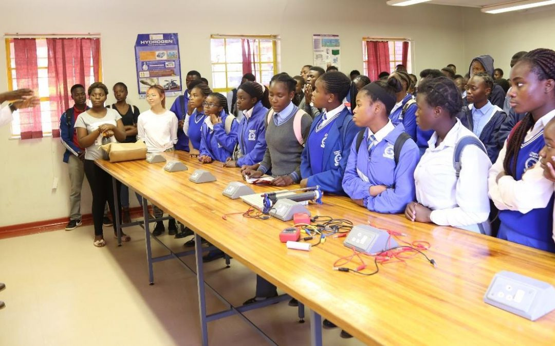 Primary and secondary school learners face the harsh realities of climate change