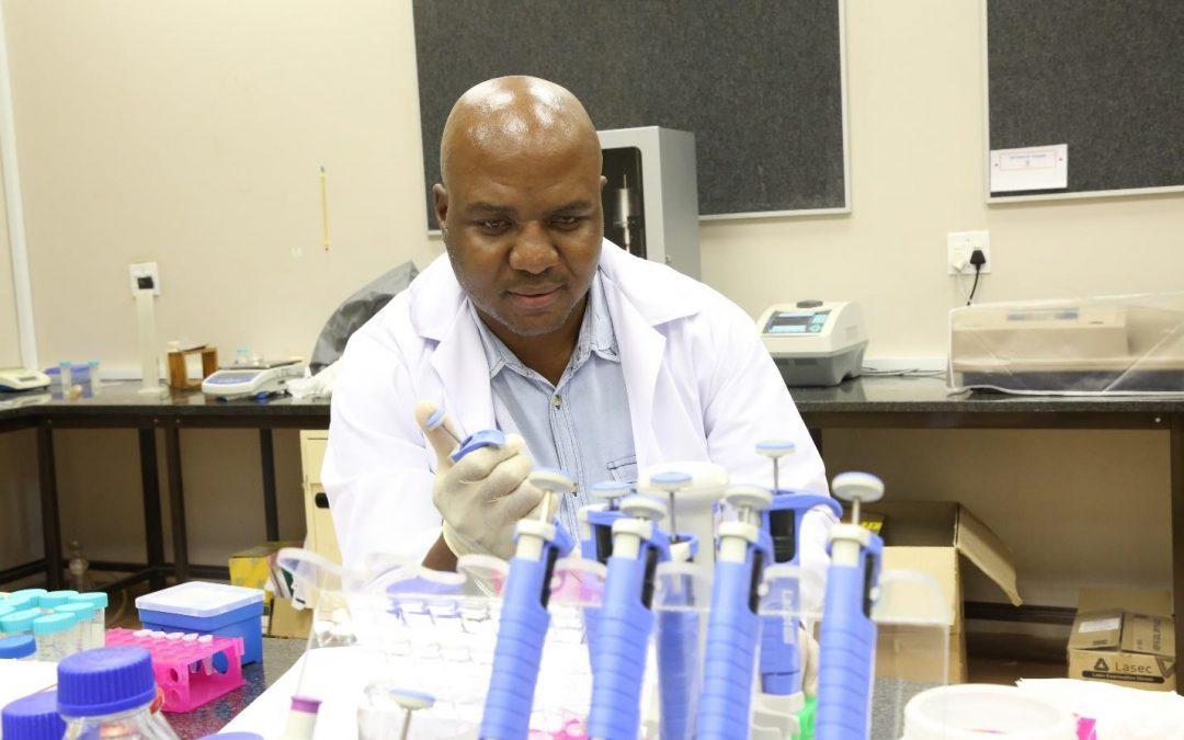 Dr Edwin Madala wins a prestigious NRF award as an Emerging researcher of the year