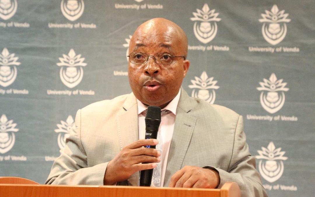 UNIVEN bids farewell to University Registrar, Prof Edward Nesamvuni