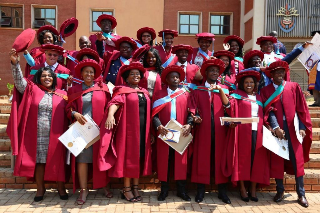 UNIVEN confers a total of 56 Doctoral degrees during 2019 academic year PhD graduates