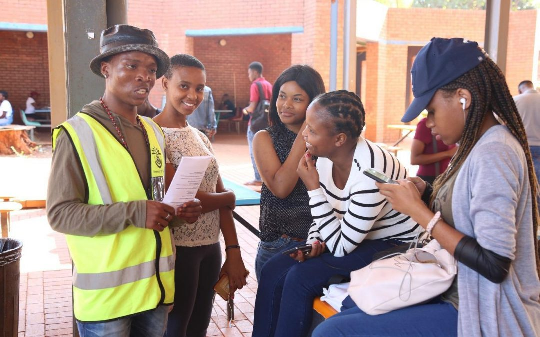 UNIVEN Protection Services gives safety tips to students on how to prevent crime activities.