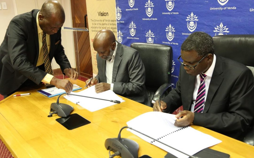 UNIVEN and Public Service Commission sign a Memorandum of Understanding