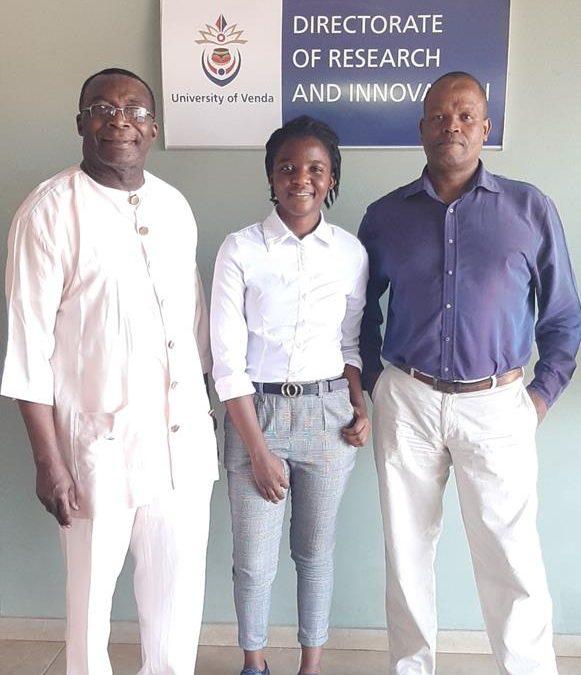 Tshianeo Ndou benefits from JRS Biodiversity Foundation Grant