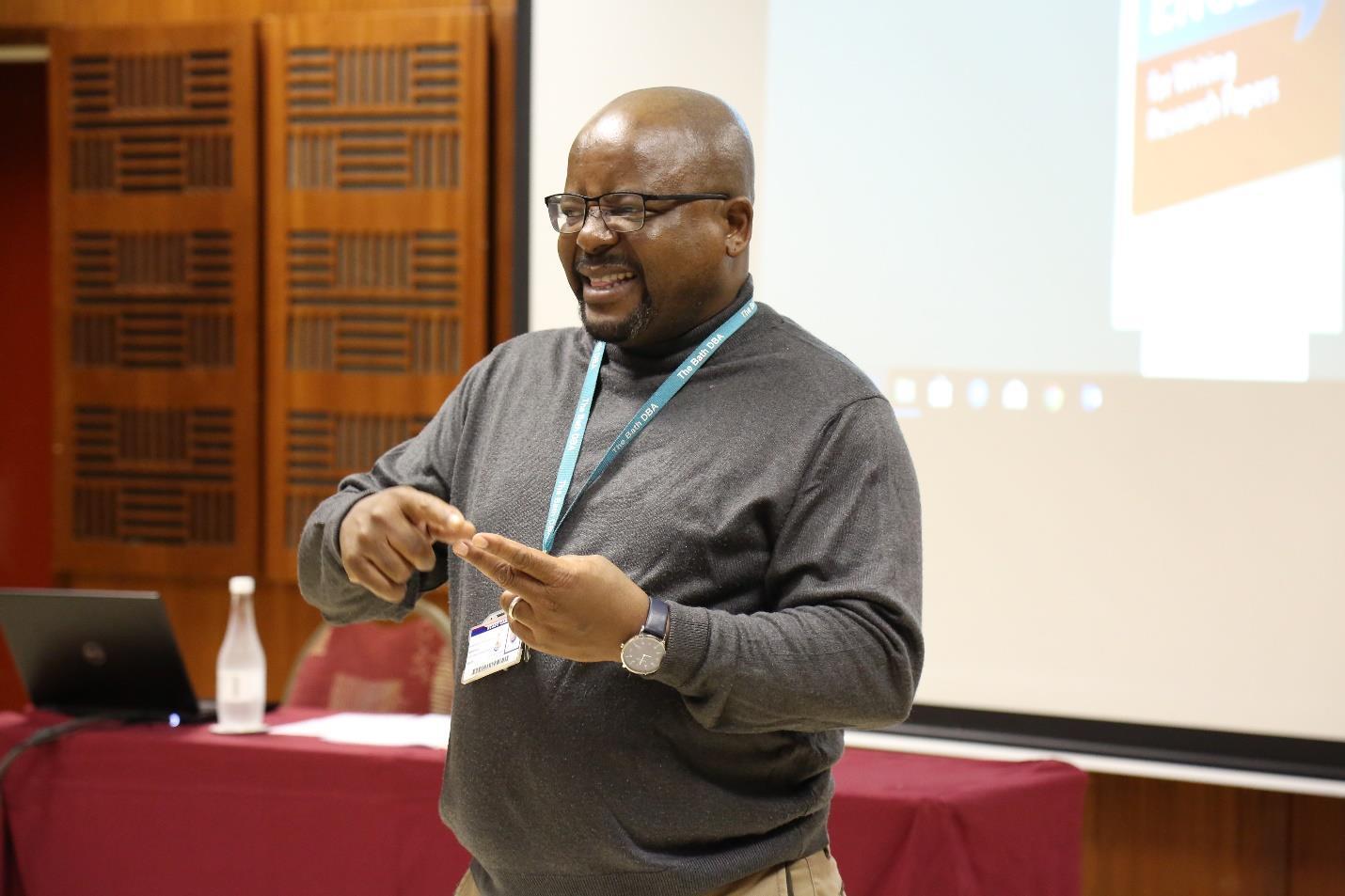 Research Professor Mashudu Mashige