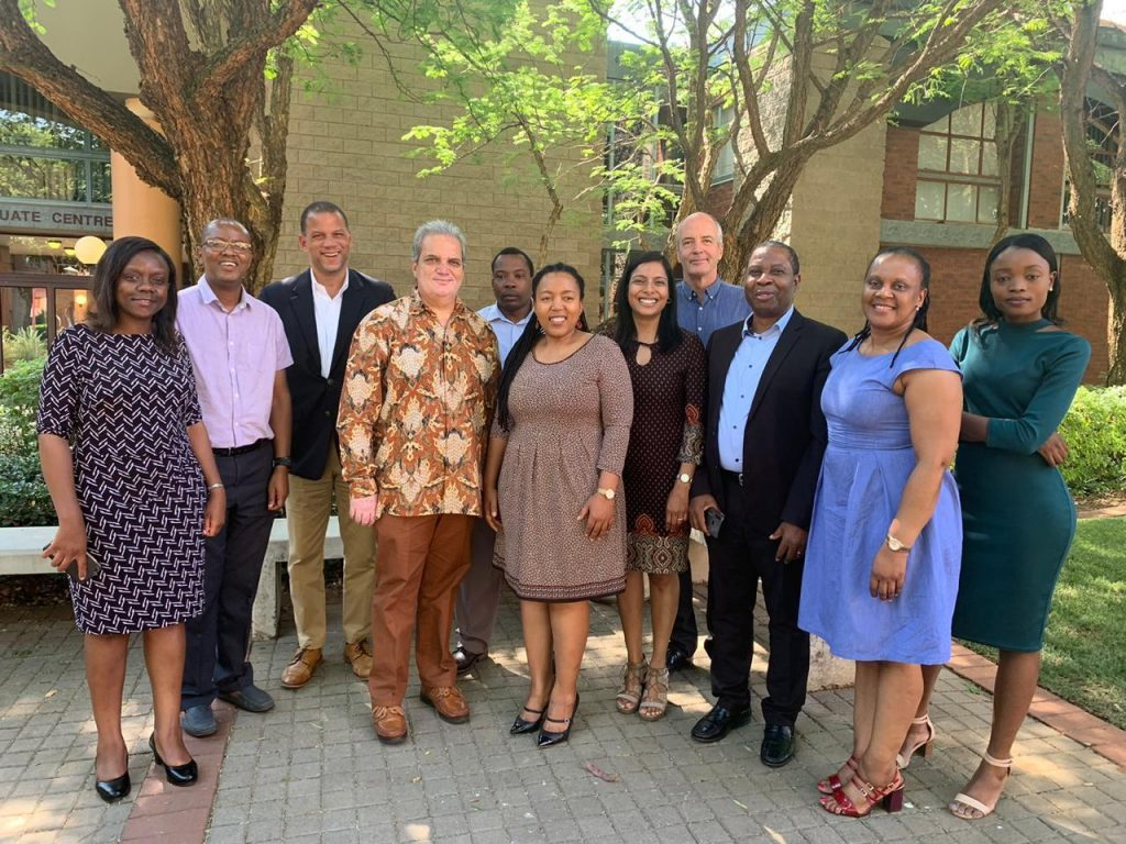 UNIVEN participates in USA-SA HE Network strategic workshop at UP