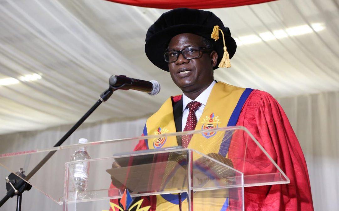 Vice-Chancellor and Principal declares 2020 Academic year officially open