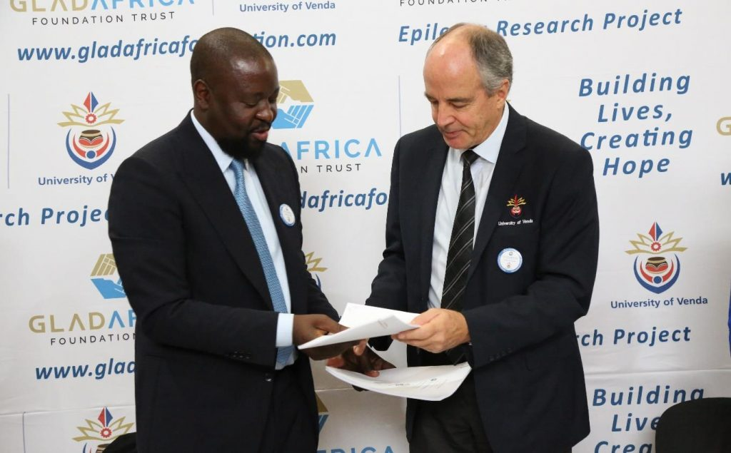 GladAfrica Foundation Trust and University of Venda launch GladAfrica Epilepsy Research Project (GERP) worth more than R3m
