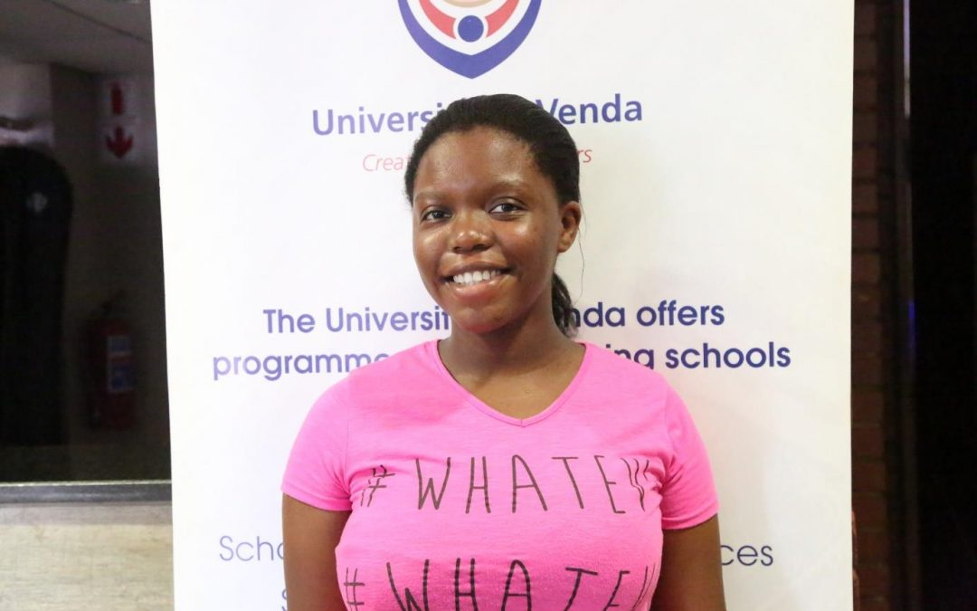 Vhonani shares her experience as a UNIVEN first time entering student