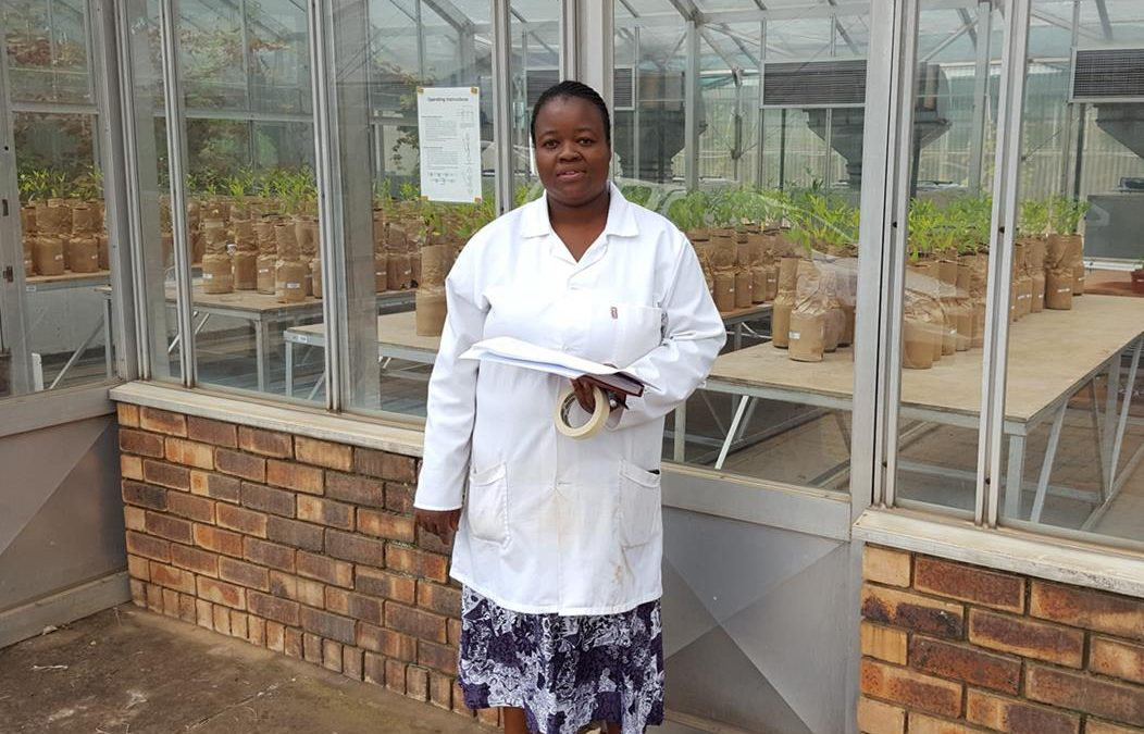 Doctoral Candidate, Ms Francina Bopape discovers unusual Bio-Inoculant