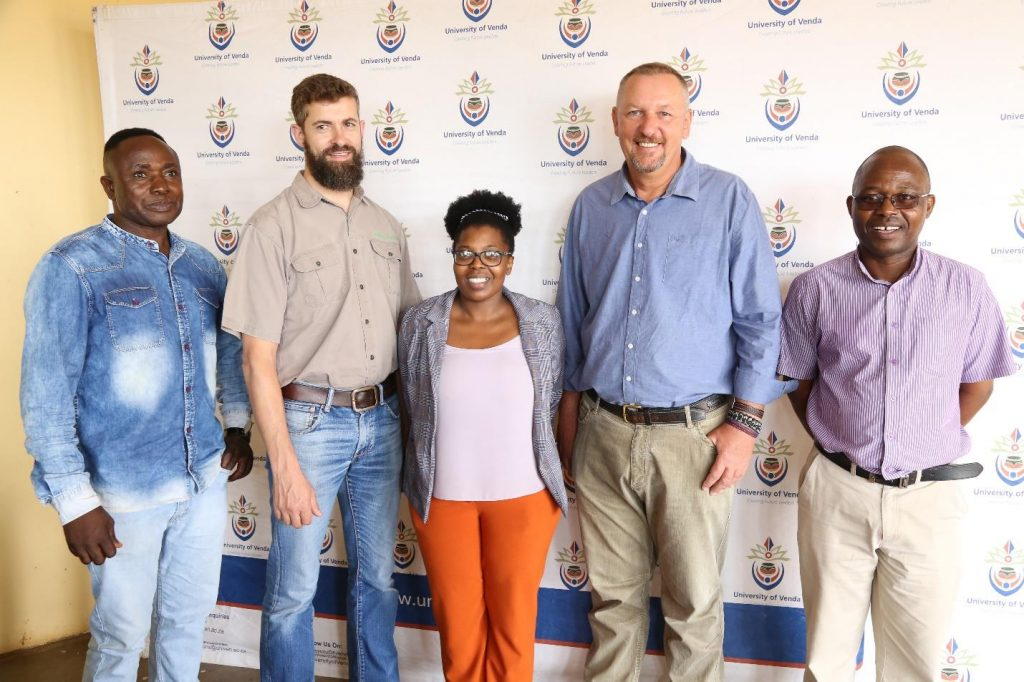 UNIVEN partners with UNIDO, GEF, CDM and Department of Environment, Forestry and Fisheries to empower Limpopo youth