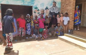 Nine UNIVEN and UvA Students visit Muhlava Traditional Health Practitioner Association to explore areas of collaboration