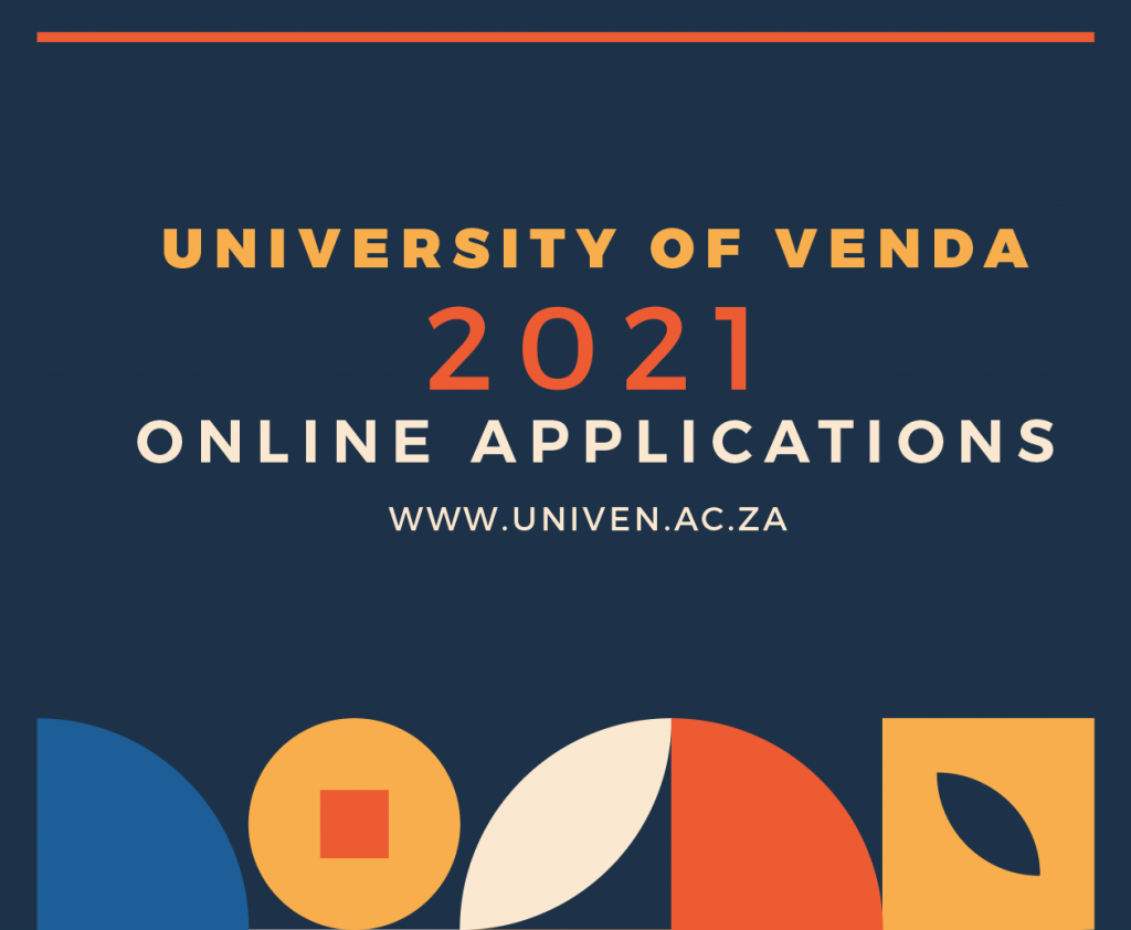2021 UNIVERSITY OF VENDA ONLINE APPLICATIONS FOR ADMISSION AND HOSTEL ACCOMMODATION ARE NOW OPEN