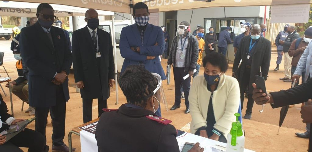 DR NTHAMBELENI AFFIRMS UNIVEN'S PREPAREDNESS FOR THE RETURN OF SOME STUDENTS AMID COVID – 19