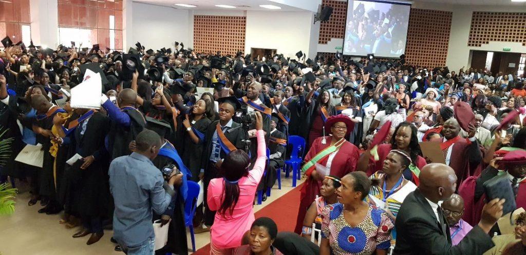 UNIVEN Chancellor Adv. Mojankunyane Gumbi confers 3068 degrees during virtual graduation ceremony