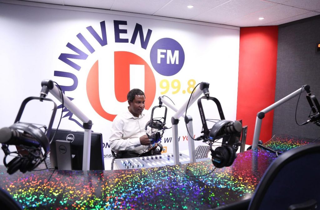 UNIVEN FM is now operating from newly refurbished studios