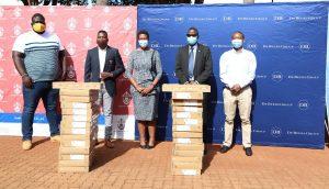 De Beers Group donates laptops to the University of Venda