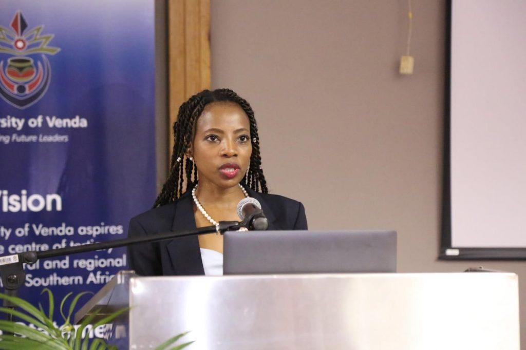 The Acting Public Protector, Advocate Kholeka Gcaleka visits UNIVEN