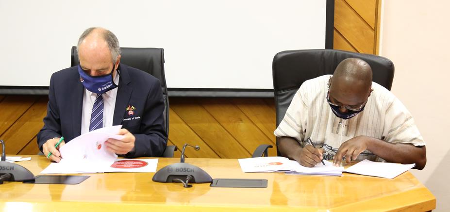 UNIVEN formalises its relationship with Vhembe Biosphere Reserve