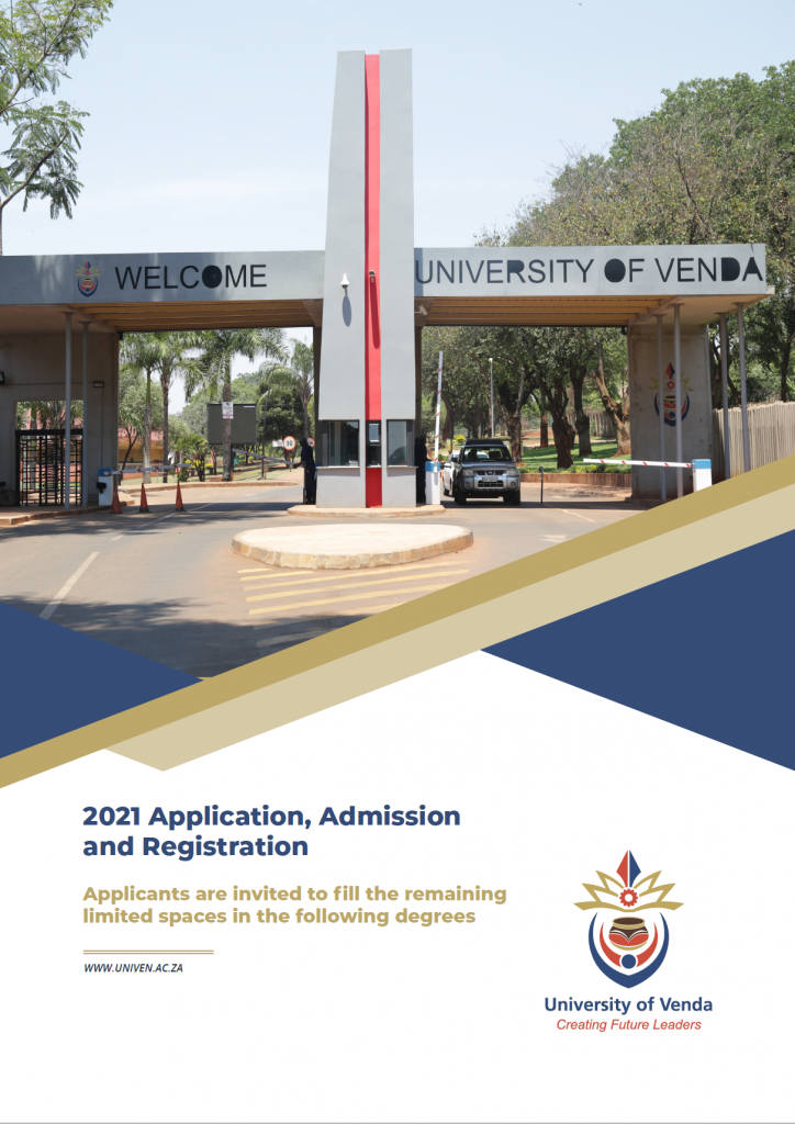 2021 Application, Admission and Registration – Applicants are invited to fill the remaining limited spaces in the following degrees