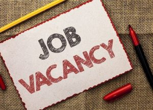 New vacancies uploaded, apply online via the e-recruitment system
