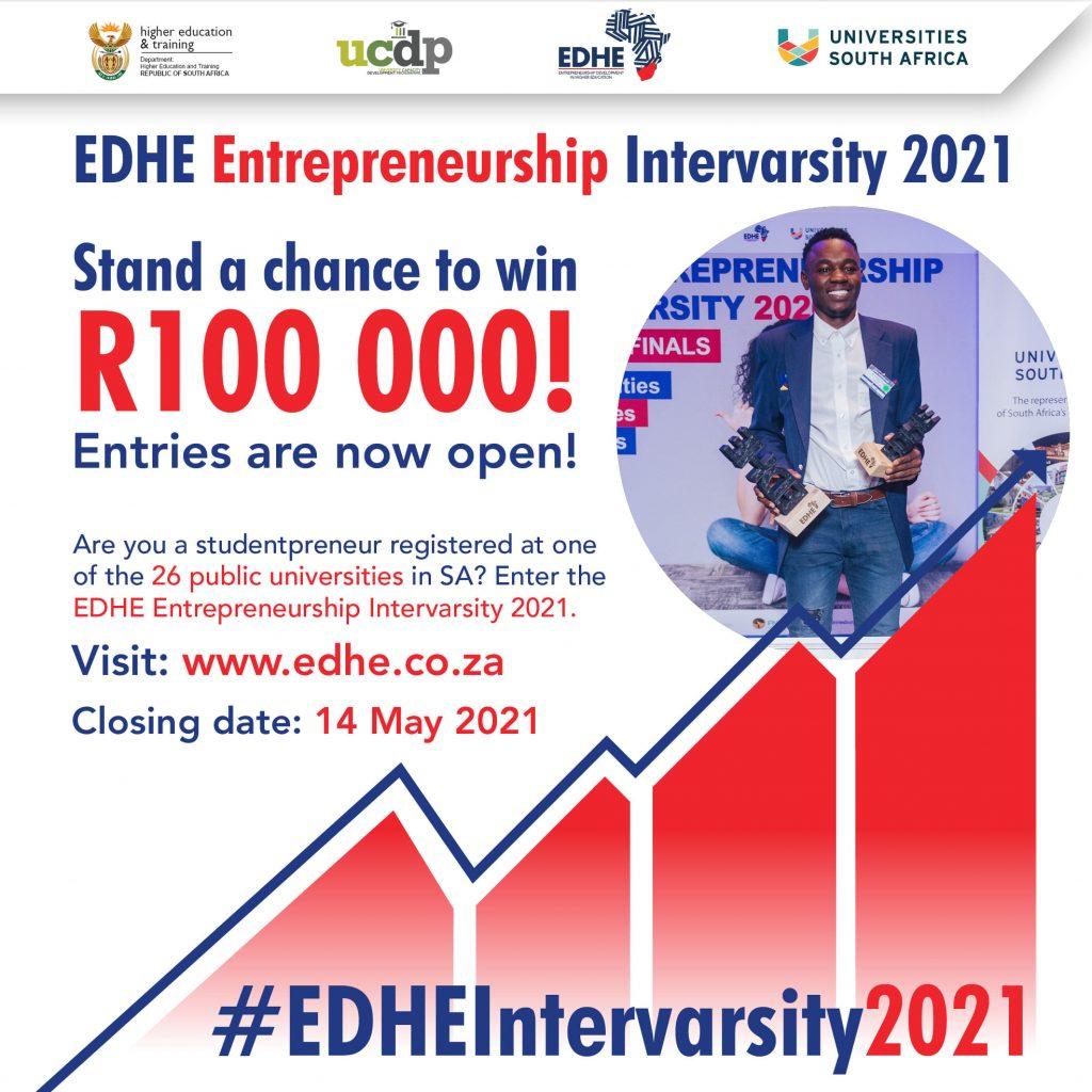 Entrepreneurship Development in Higher Education (EDHE) Intervarsity Competition 2021 Registration