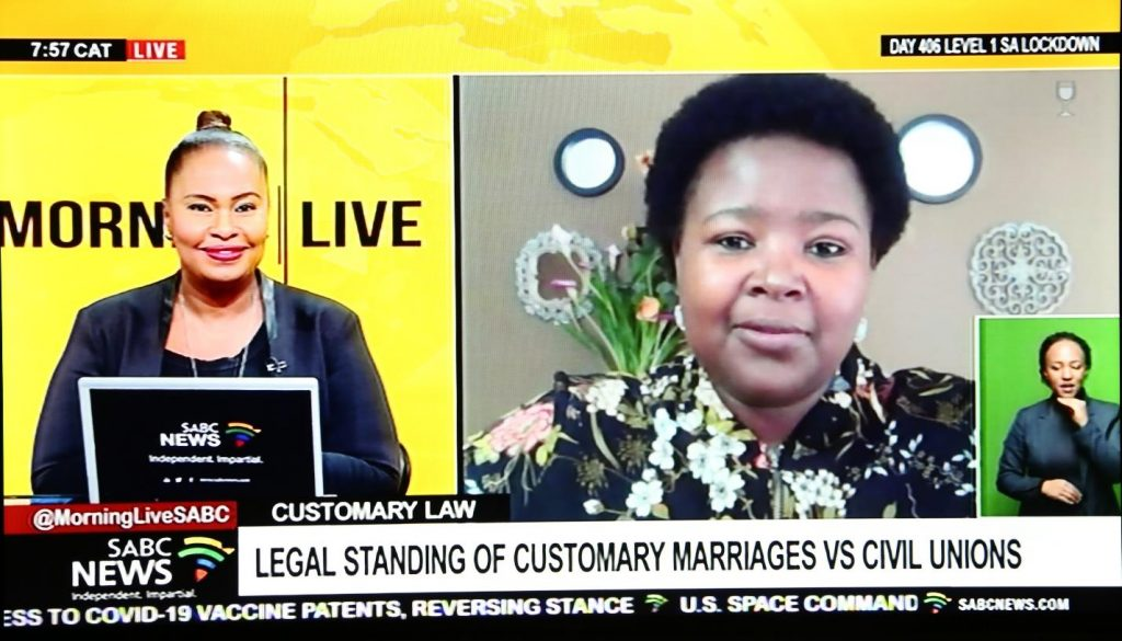 UNIVEN Customary Law Lecturer discusses issues of interplay between Civil and Customary Marriages in Polygamous Household