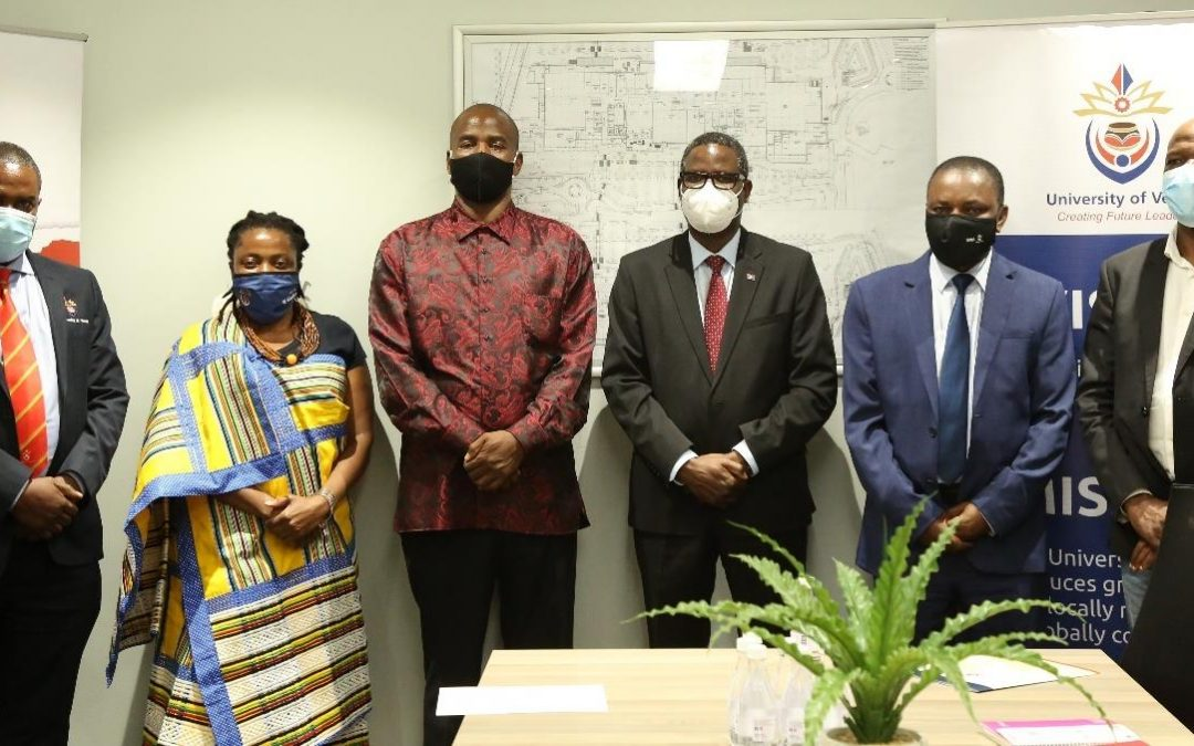 UNIVEN and Mulenzhe Development Trust meet to strengthen collaboration of projects benefiting surrounding communities