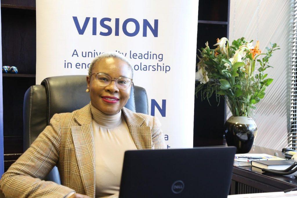 Prof Ntebogeng Mokgalaka-Fleischmann joins the University of Venda